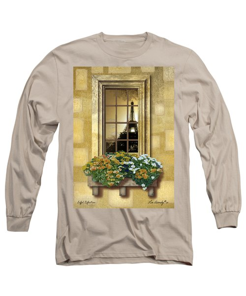 Eiffel Reflection Long Sleeve T-Shirt