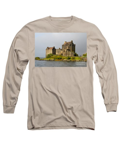 Eilean Donan Castle In Scotland Long Sleeve T-Shirt