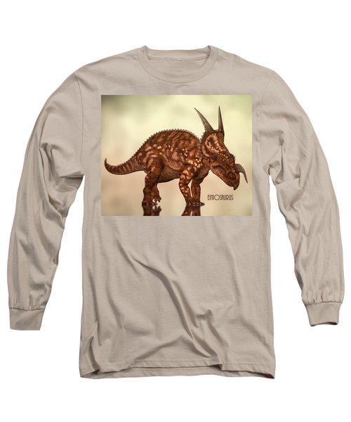 Einiosaurus Long Sleeve T-Shirt by Bob Orsillo