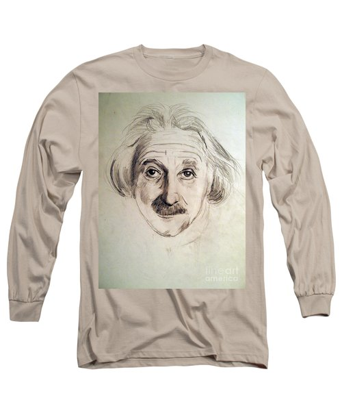 Einstein Long Sleeve T-Shirt by Nancy Kane Chapman