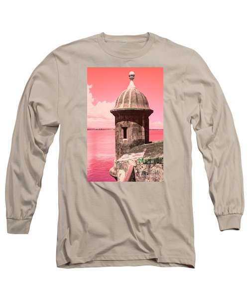 El Morro In The Pink Long Sleeve T-Shirt