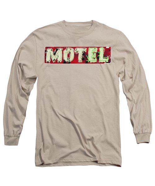 El Motel Long Sleeve T-Shirt