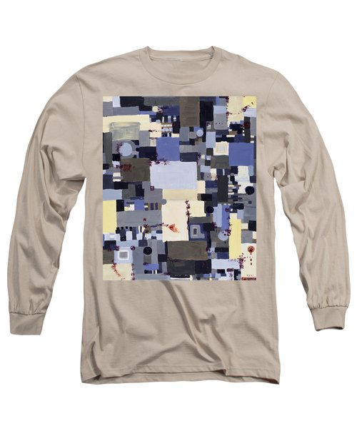 Elastic Dialog Long Sleeve T-Shirt