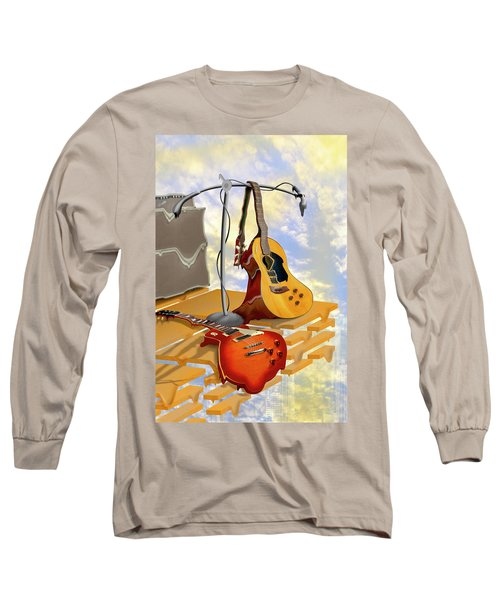 Electrical Meltdown Long Sleeve T-Shirt by Mike McGlothlen