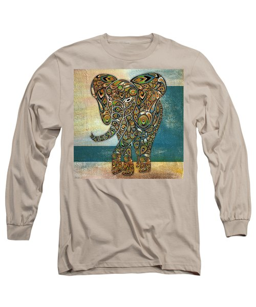 Elefantos - 01ac03at03b Long Sleeve T-Shirt by Variance Collections