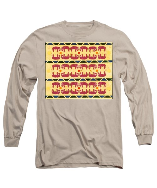 Elephant Dance Long Sleeve T-Shirt