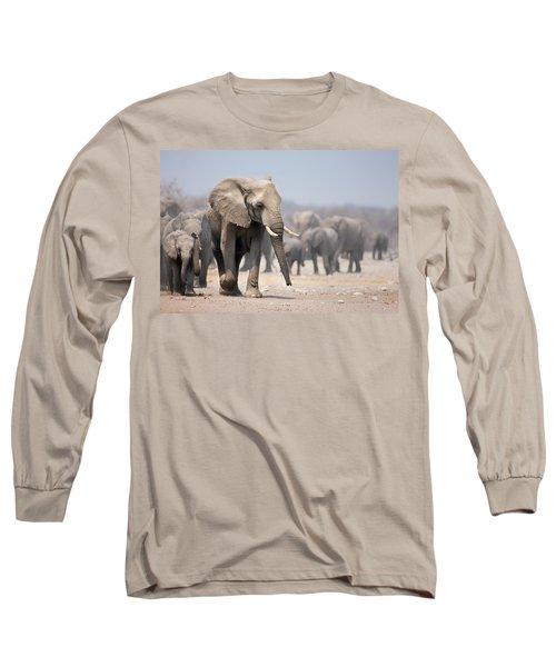 Elephant Feet Long Sleeve T-Shirt