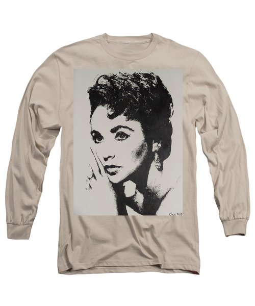 Elizabeth Taylor  Long Sleeve T-Shirt