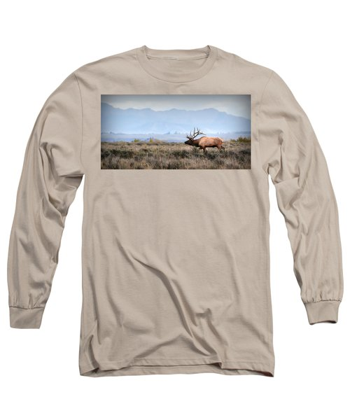 Elk Crossing Long Sleeve T-Shirt