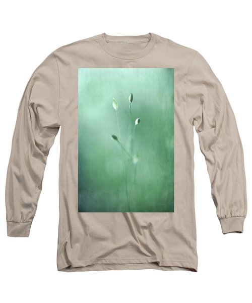 Long Sleeve T-Shirt featuring the photograph Emerge by Annie Snel