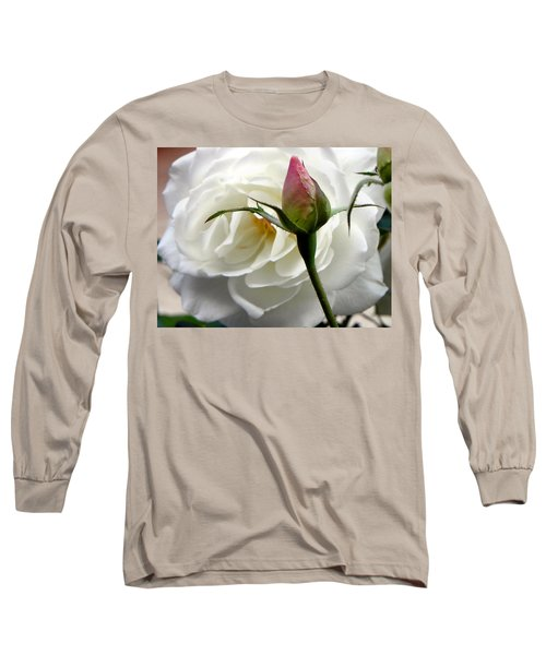 Long Sleeve T-Shirt featuring the photograph Emergence by Deb Halloran