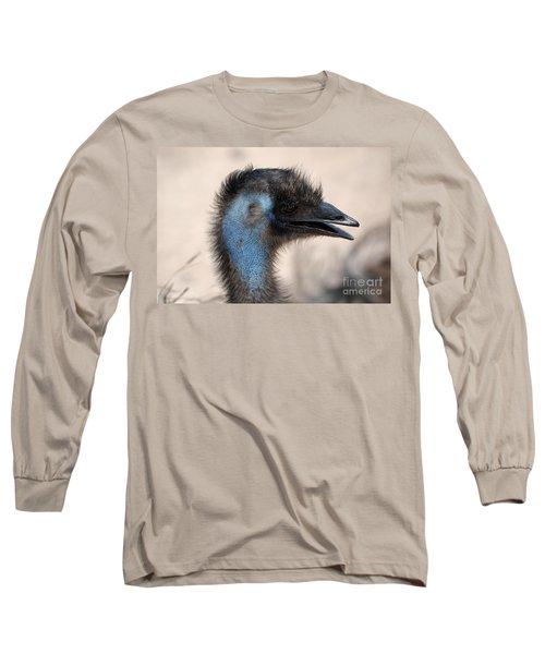 Emu Long Sleeve T-Shirt by DejaVu Designs
