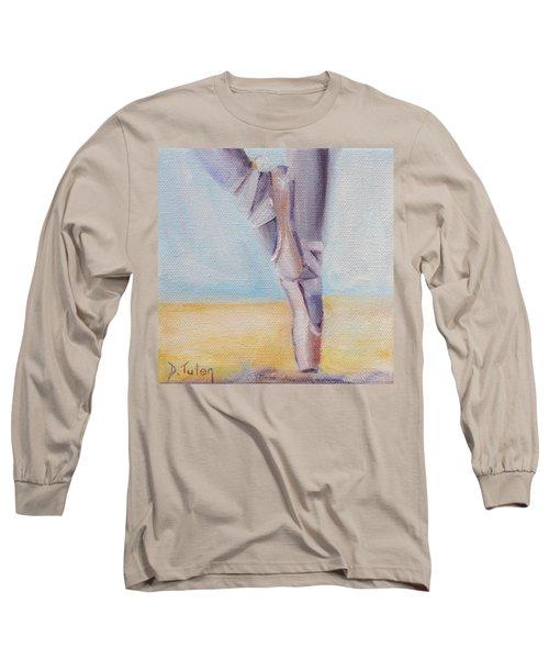 En Pointe Long Sleeve T-Shirt by Donna Tuten