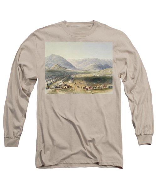 Encampment Of The Kandahar Army Long Sleeve T-Shirt