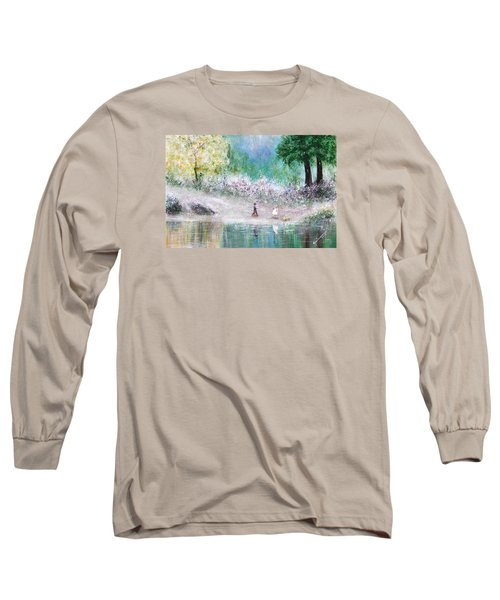 Endless Day Long Sleeve T-Shirt by Kume Bryant
