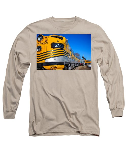 Long Sleeve T-Shirt featuring the photograph Engine 5771 by Shannon Harrington