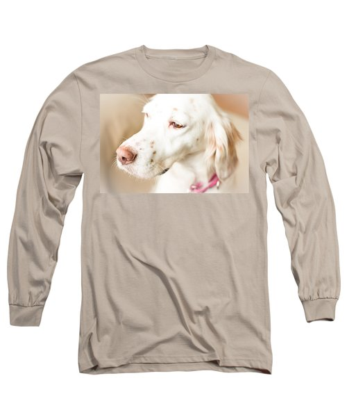 English Setter In Natural Light Long Sleeve T-Shirt