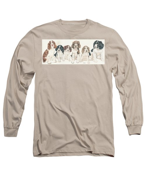 English Springer Spaniel Puppies Long Sleeve T-Shirt