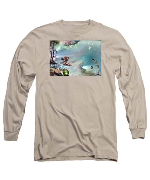 Enigma Long Sleeve T-Shirt by Mikhail Savchenko
