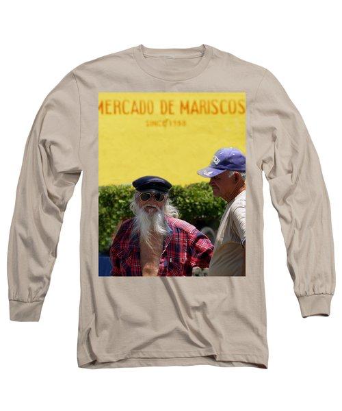 Ensenada Harbour And Fish Market 32 Long Sleeve T-Shirt