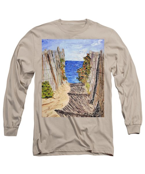 Entrance To Summer Long Sleeve T-Shirt