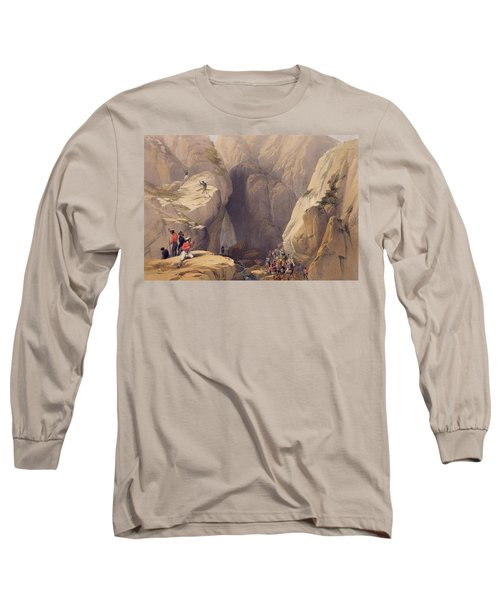 Entrance To The Kojak Pass From Parush Long Sleeve T-Shirt
