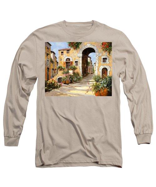 Entrata Al Borgo Long Sleeve T-Shirt