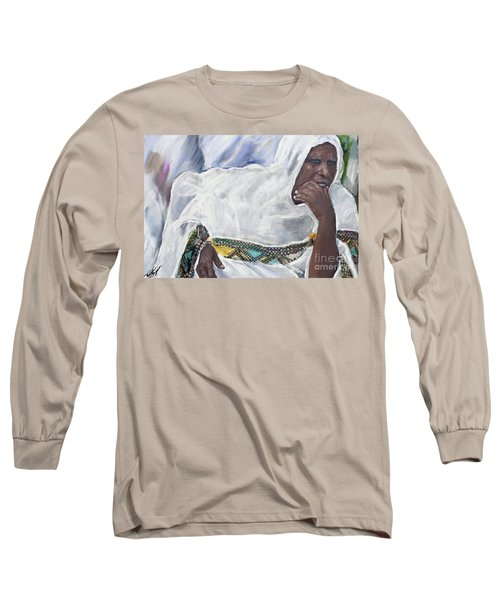 Ethiopian Orthodox Jewish Woman Long Sleeve T-Shirt