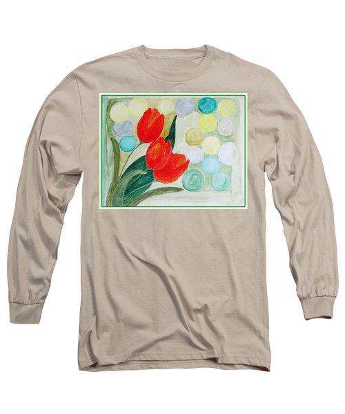 Europa Long Sleeve T-Shirt by Sonali Gangane