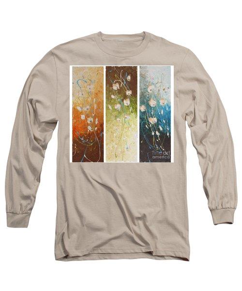 Evening Blossom Long Sleeve T-Shirt