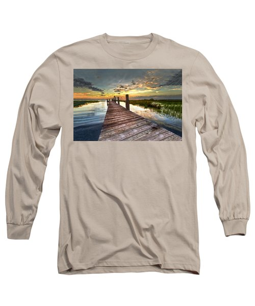 Evening Dock Long Sleeve T-Shirt