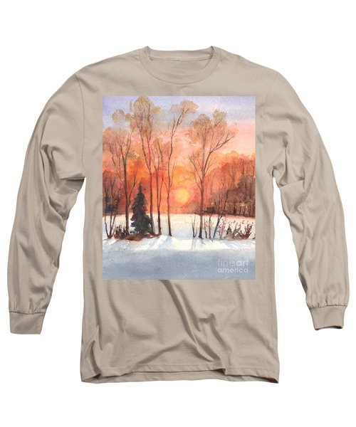The Evening Glow Long Sleeve T-Shirt
