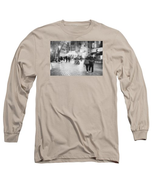 Evening Stroll In Paris Long Sleeve T-Shirt