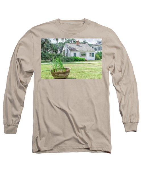 Evergreen Plantation Back Long Sleeve T-Shirt