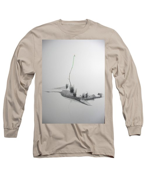 Long Sleeve T-Shirt featuring the painting Evocation by A  Robert Malcom