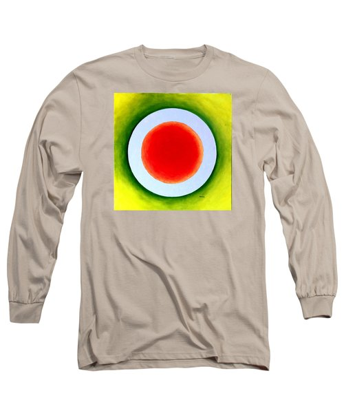 Long Sleeve T-Shirt featuring the painting Express Yourself by Thomas Gronowski