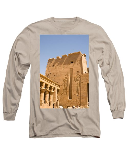 Exterior Wall Art Long Sleeve T-Shirt