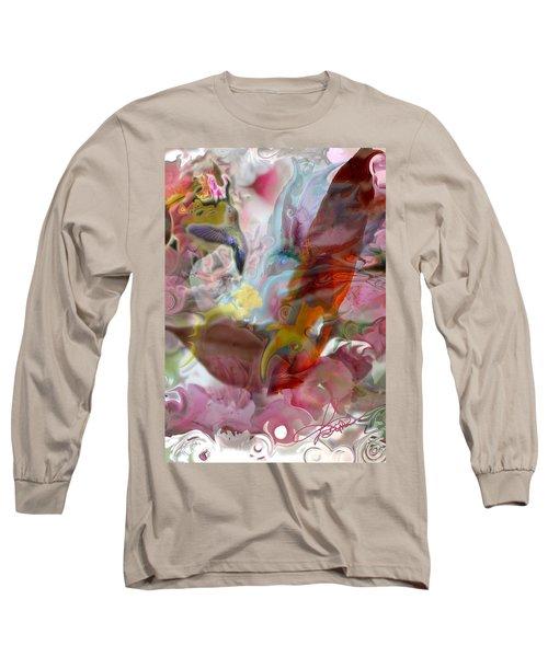 Eye Of Joy Long Sleeve T-Shirt by Deprise Brescia
