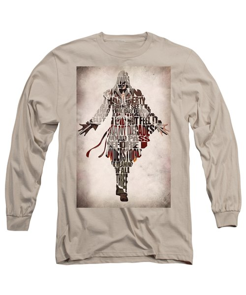 Ezio Auditore Da Firenze From Assassin's Creed 2  Long Sleeve T-Shirt