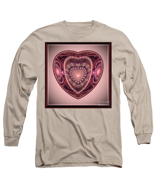 Faberge Heart Long Sleeve T-Shirt