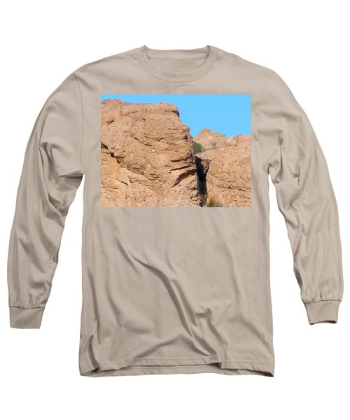Face Of The Monolith Long Sleeve T-Shirt