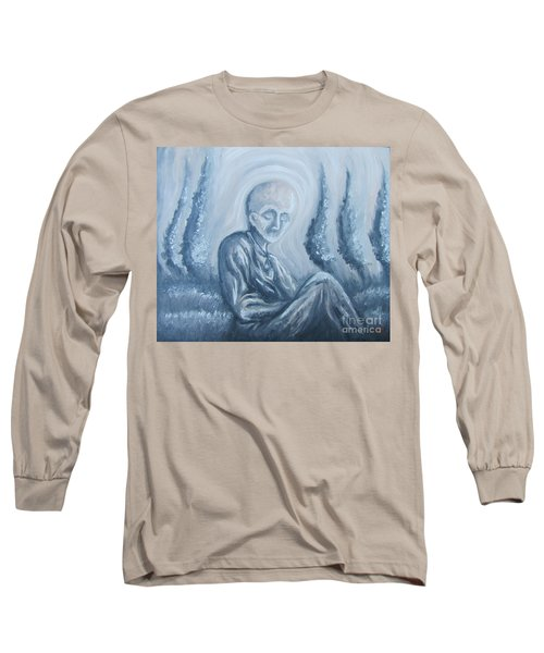 Long Sleeve T-Shirt featuring the painting Fade Away by Michael  TMAD Finney