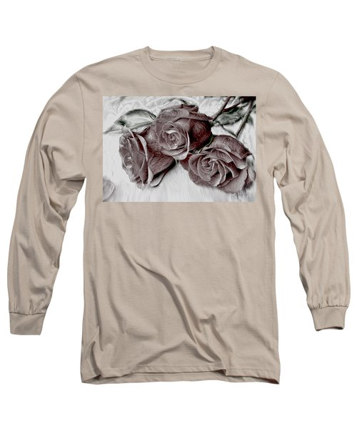 Faded Love Long Sleeve T-Shirt by Bonnie Willis