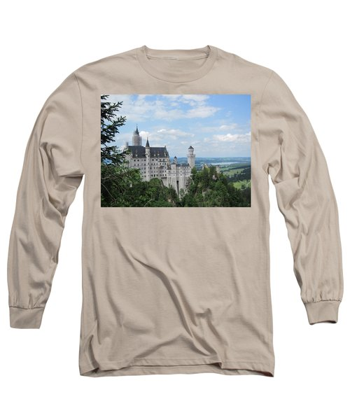 Long Sleeve T-Shirt featuring the photograph Fairytale Castle by Pema Hou