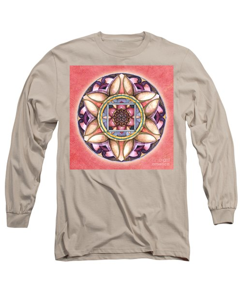 Faith Mandala Long Sleeve T-Shirt
