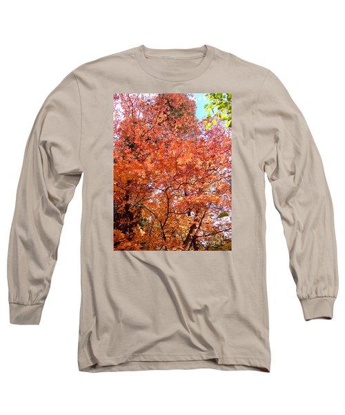 Fall Colors 6357 Long Sleeve T-Shirt by En-Chuen Soo