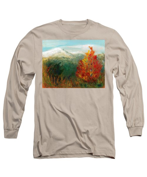 Fall Day Too Long Sleeve T-Shirt by C Sitton