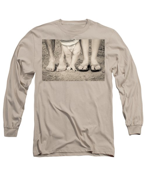 Family Feets Long Sleeve T-Shirt