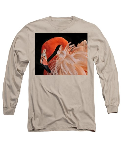 Fancy Feathers Long Sleeve T-Shirt