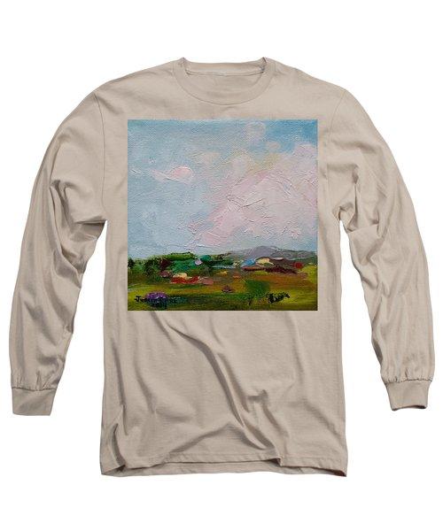 Farmland IIi Long Sleeve T-Shirt by Judith Rhue